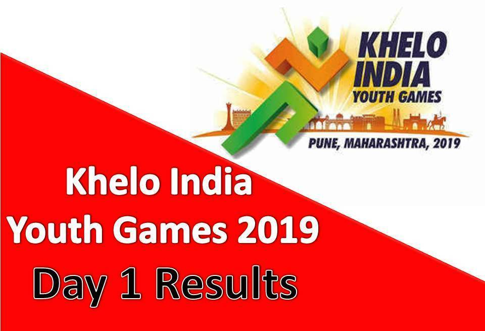 Khelo India Youth Games 2019: Day 1 Ke Results