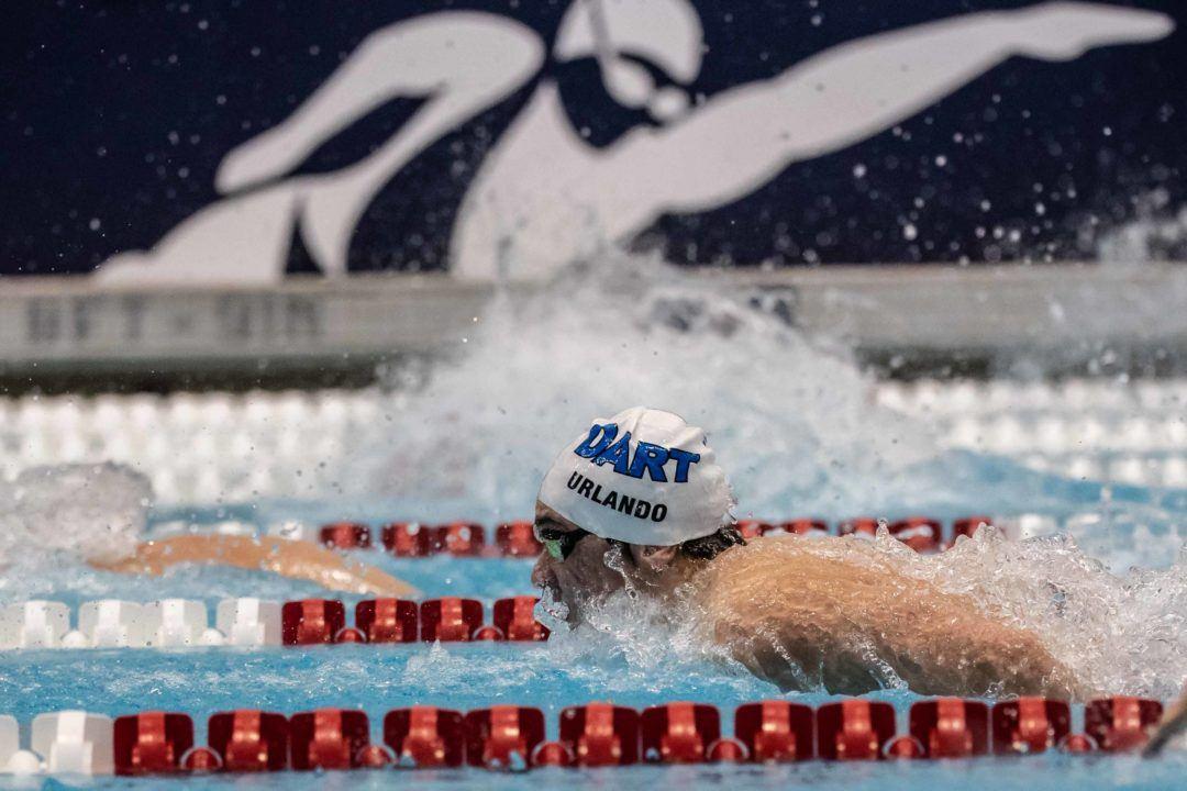 Ultra Swim Swimmer of the Month: Luca Urlando, DART