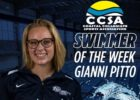 Liberty's Pitto Named CCSA Women's Swimmer of the Week