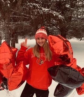 3x YMCA National Champion #14 Paige Hetrick Verbals to Louisville