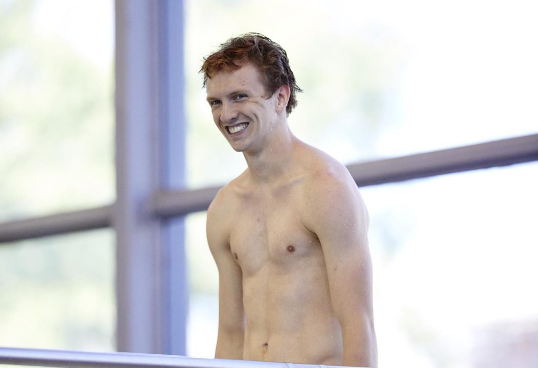 UNLV's Cawley Earns WAC Diver of the Week Nod