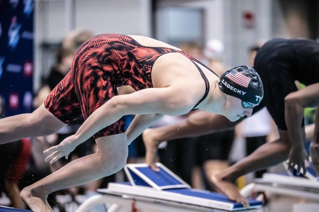 Ledecky, Manuel, Adrian Slated for LC Return at San Antonio PSS (Psych Sheets)