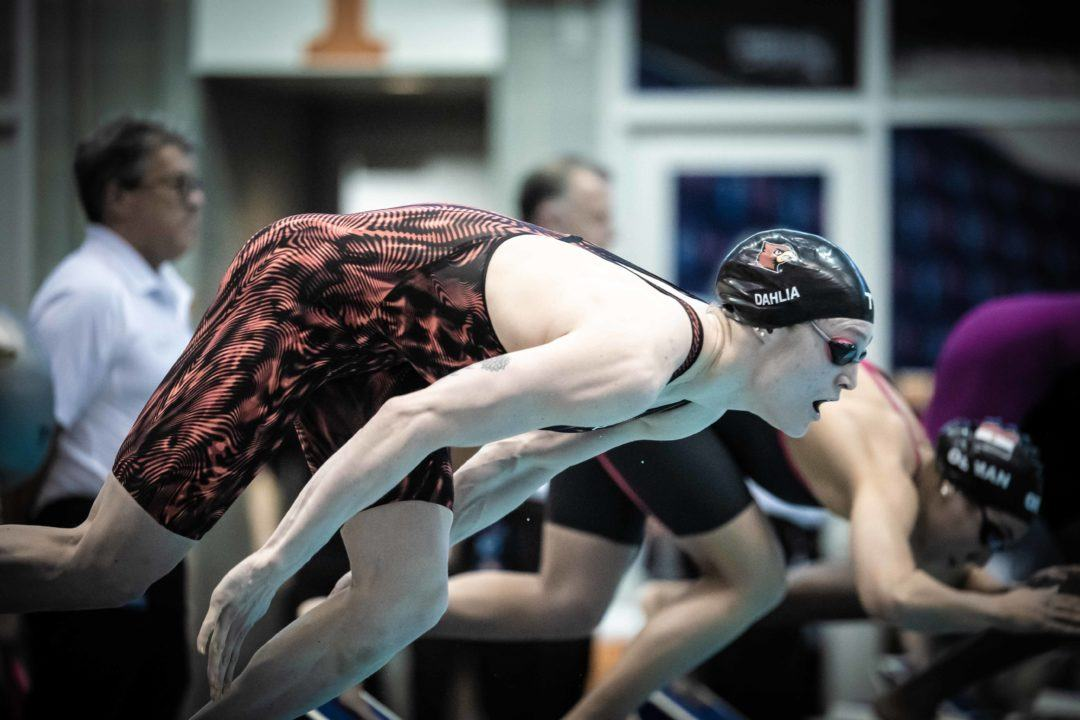 Kelsia Dahlia Scratches Both Events On Day 2 of Bloomington Pro Swim