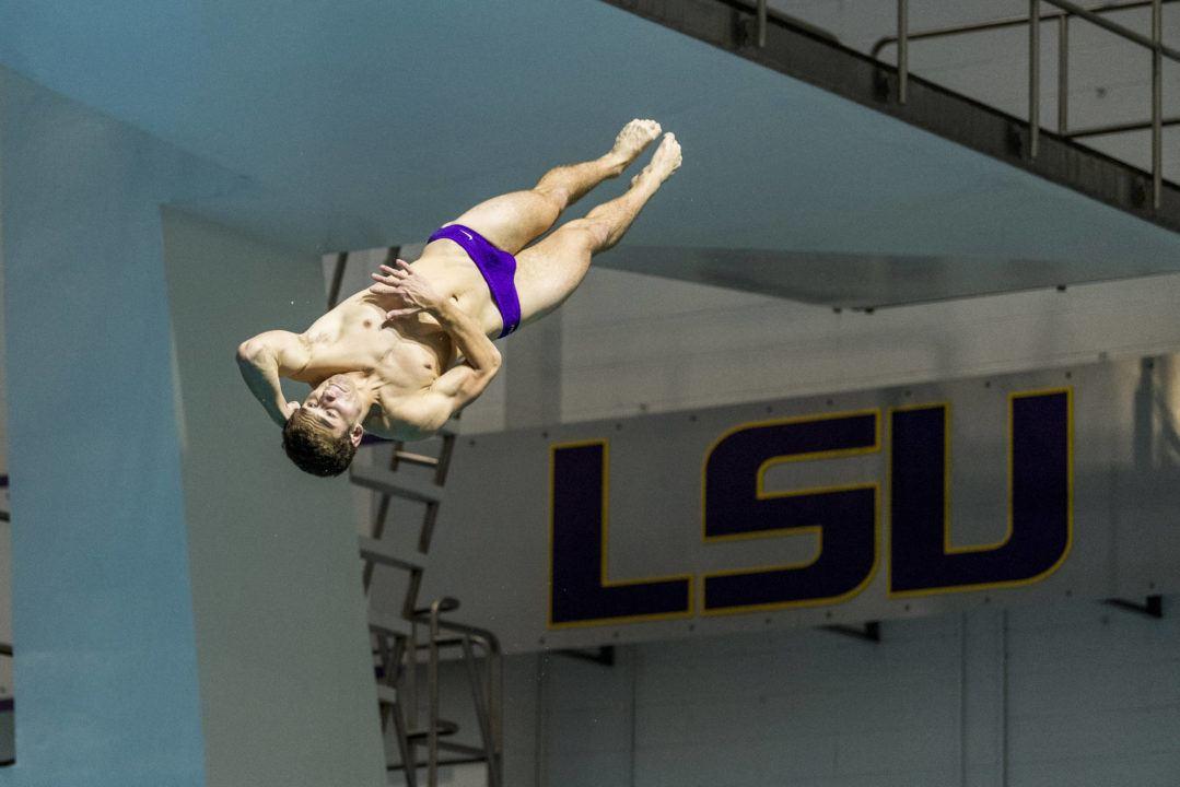 LSU Diving Kicks Off 2019 in Georgia