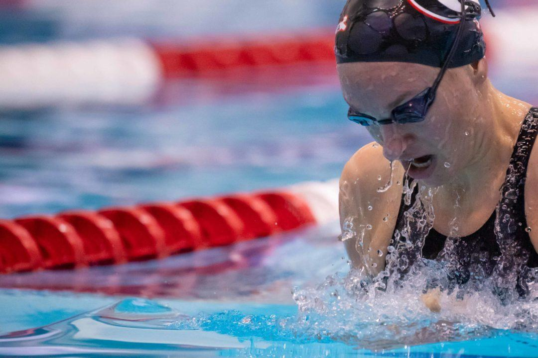 Melanie Margalis Becomes 4th Fastest American Ever with 4:32 400 IM