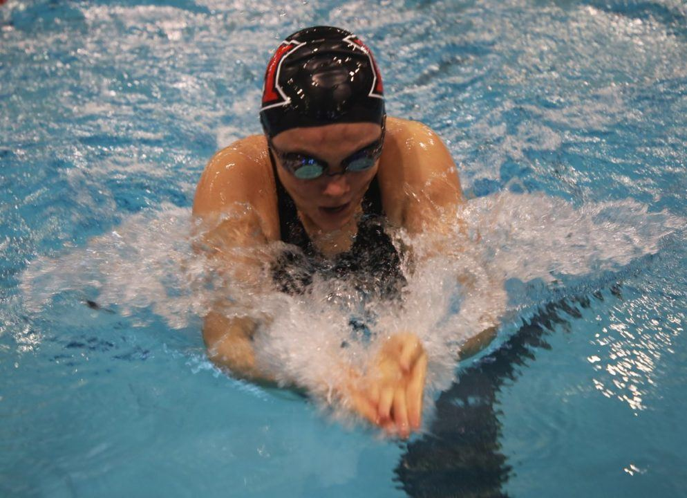 Miami Wins 16 of 17 Events in 225-75 Drubbing of Toledo