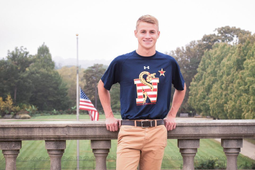 Breaststroker Patrick Merse Commits to Navy's Class of 2023