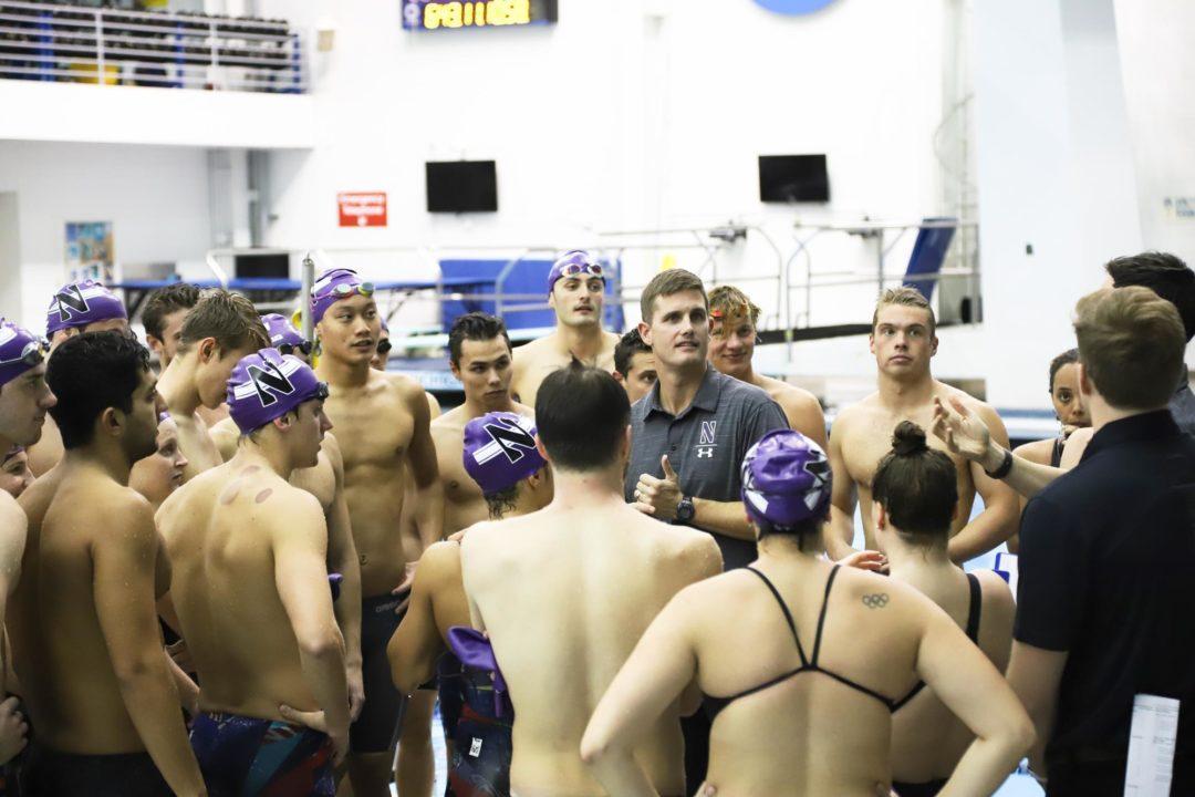 Northwestern Wins 19 Events in Sweep of Cincinnati