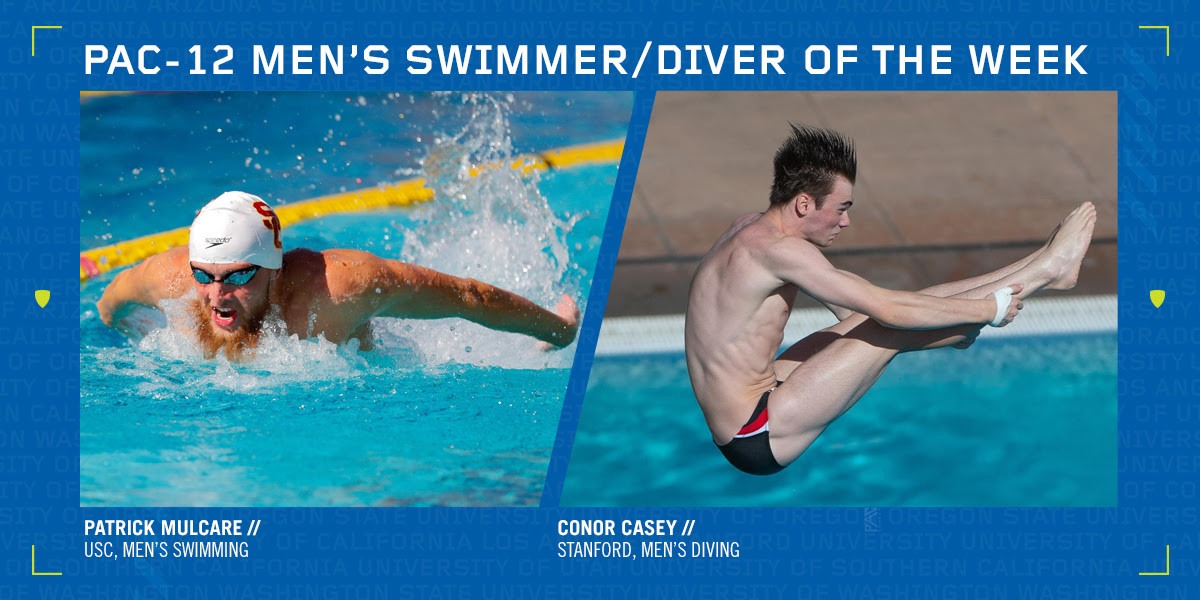 USC's Mulcare, Stanford's Casey Tabbed Pac-12 Men's Weekly Honorees