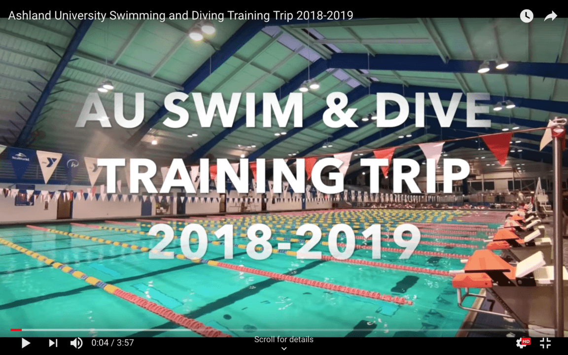 Ashland Soaks Up Rosen YMCA Aquatic Center in Orlando (Training Trip)