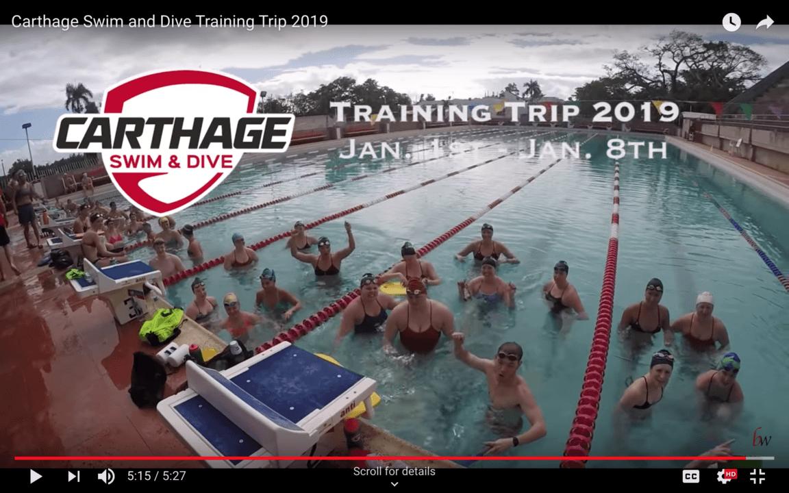 2019 Winter Training: Carthage Experiences Puerto Rico (Trip Video)