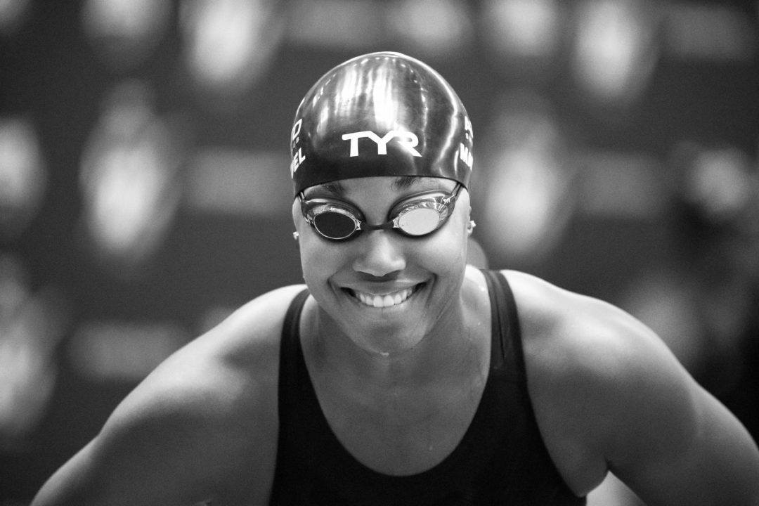 Simone Manuel Got to See Michelle Obama for a 3rd Time (Video)