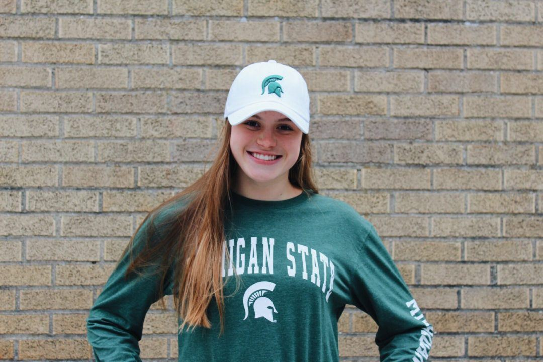 Distance Swimmer Sophia Balow Commits to Michigan State