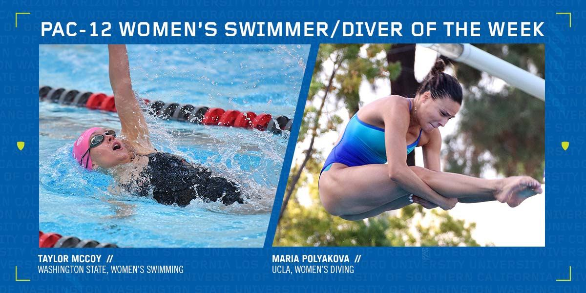 McCoy, Polyakova Earn Pac-12 Women's Weekly Nods