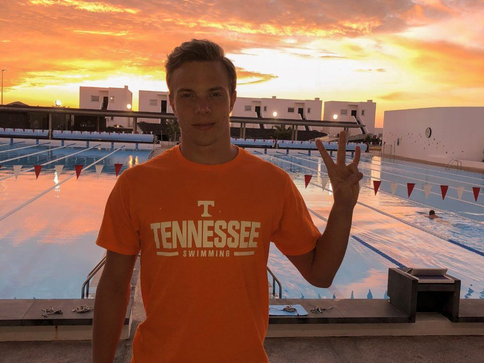 Swedish National Champ Oskar Hoff Makes Commitment to Tennessee