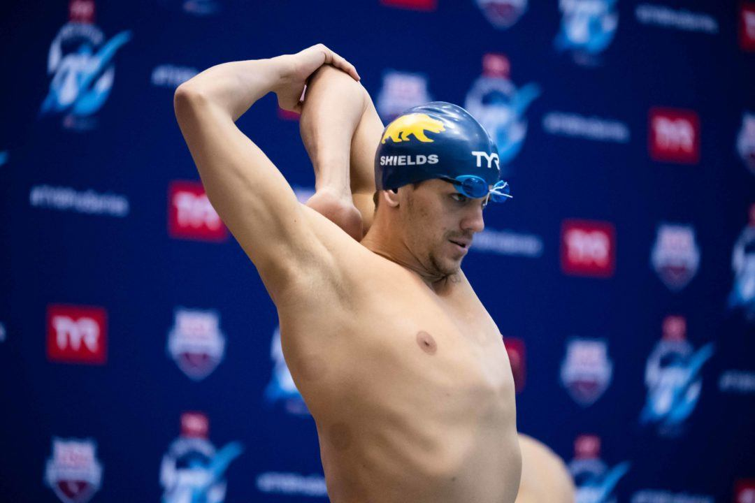 Tom Shields Swims 1:40 in 200 Fly at Pacific SCY Masters