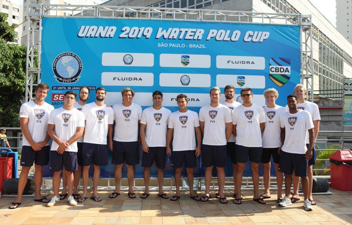 USA Men Finish 2nd at FINA Water Polo World Championships Qualifier