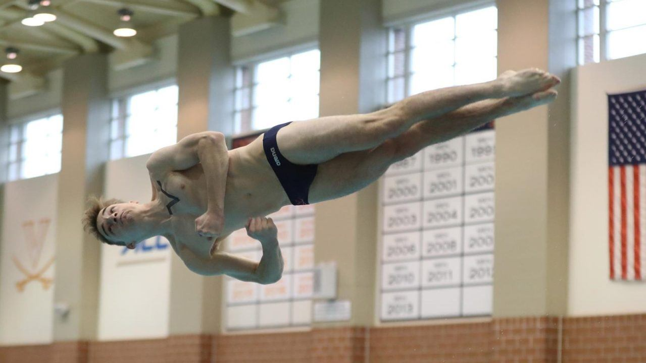 Virginia Divers Return to Action at Georgia Invite