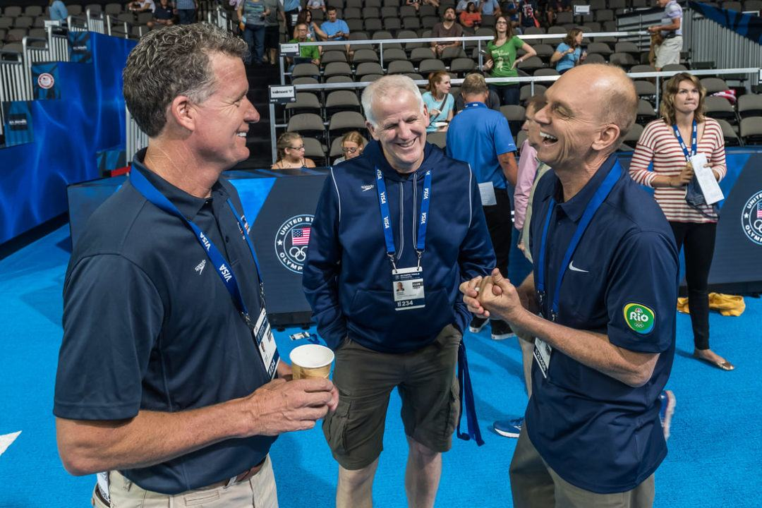 Rowdy Gaines and David Marsh Present Legends Swim Camp – Sign Up Today