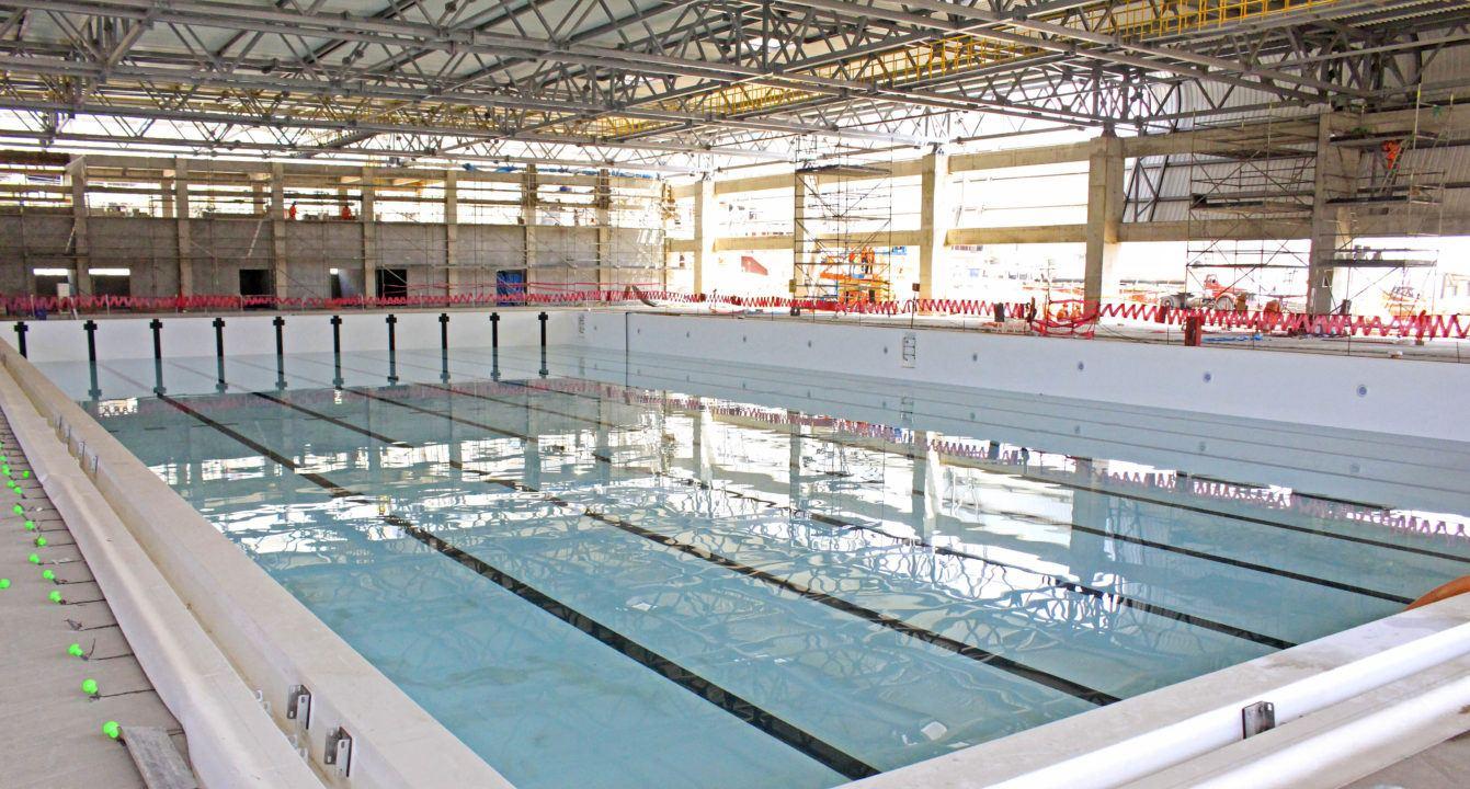 El waterpolo ya tiene piscina para los Juegos Panamericanos