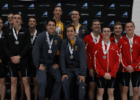 UMBC Sweeps Swimming Events on Day 1 of America East Championships