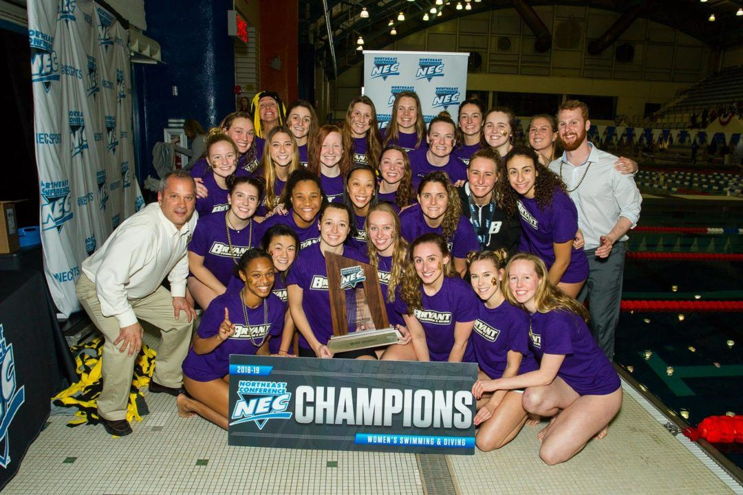 Bryant U Women Finish NEC Champs Title Defense with Record