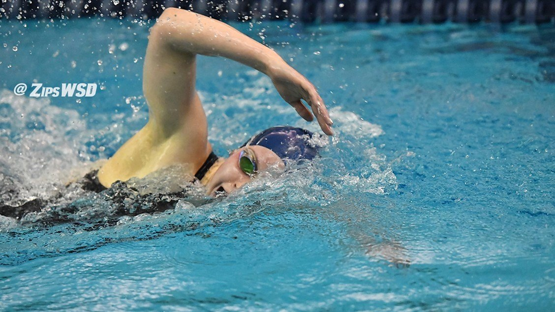 Akron Posts 9 First Place Finishes in 140-100 Win Over BGSU