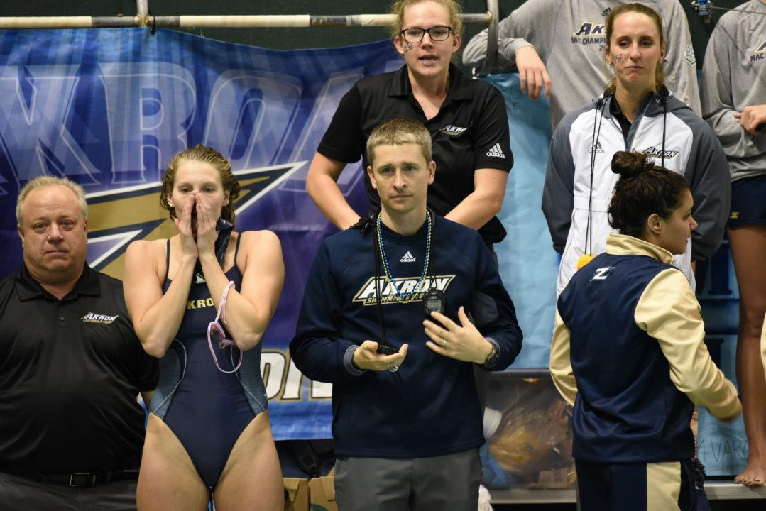 Akron Coach Brian Peresie Discusses Impact Of International Swimmers