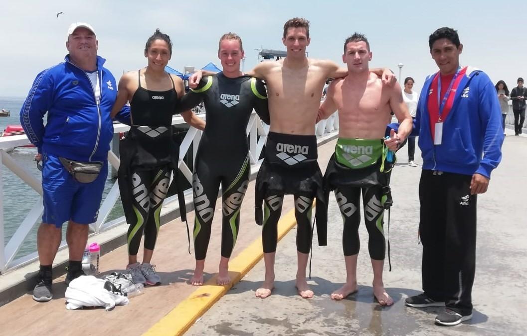 Argentina confirma su equipo para las aguas abiertas de Lima 2019