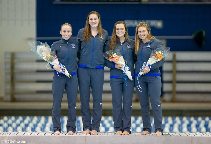 Buffalo Notches 13 Event Wins in 176-117 Victory Over BGSU