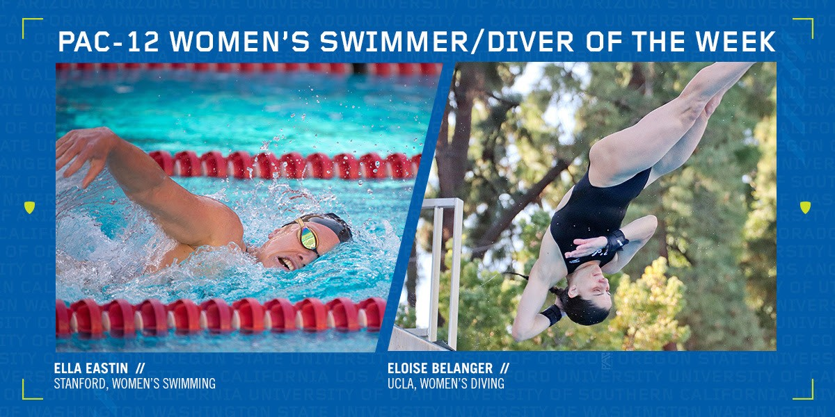 Pac-12 Tabs Stanford's Eastin, UCLA's Belanger with Weekly Honors