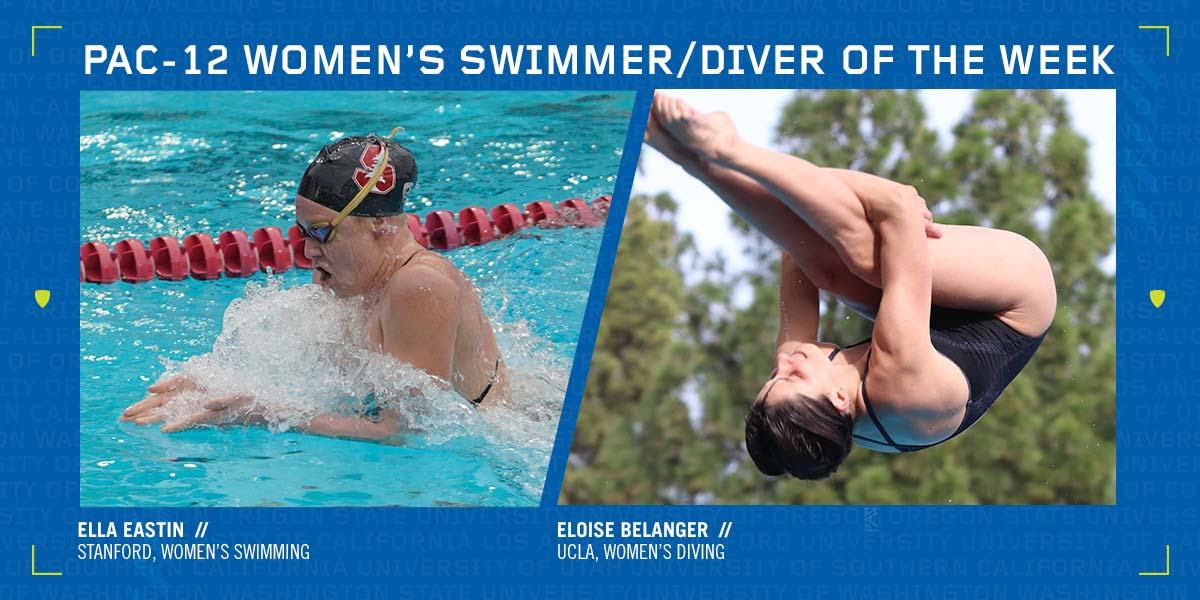 Stanford's Eastin, UCLA's Belanger Receive Pac-12 Honors