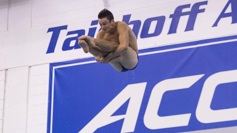 Duke's Moretti Named ACC Men's Diver of the Week