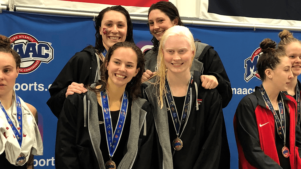 Fairfield Women, Rider Men Jump Out to Day 1 Leads at MAAC Champs