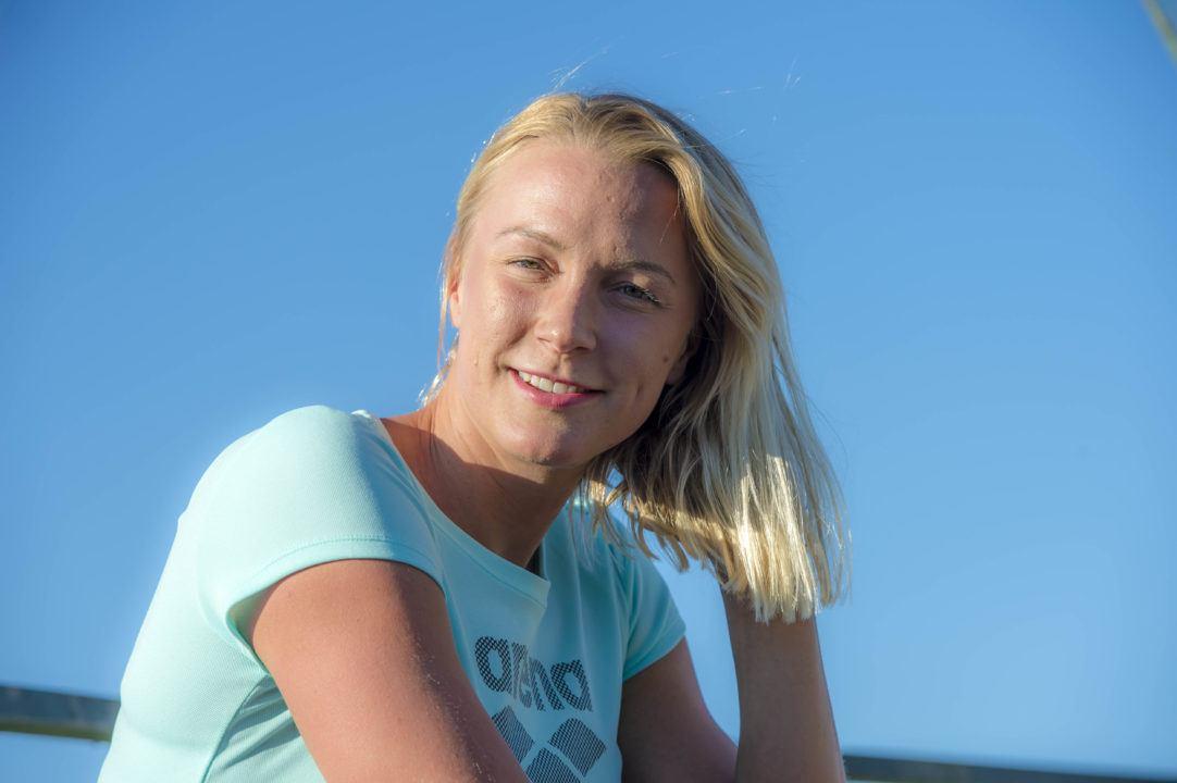 Sarah Sjostrom Parteciperà Alla FINA Champions Swim Series