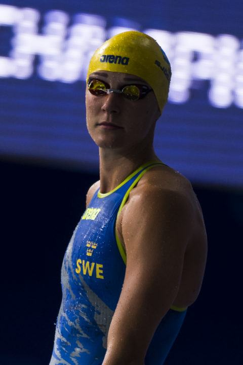 Sjostrom Strikes Twice On Night 1 Of Swedish Championships