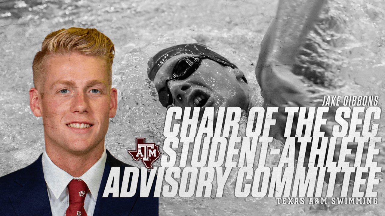 Texas A&M's Gibbons Tabbed as SEC Student-Athlete Advisory Chair