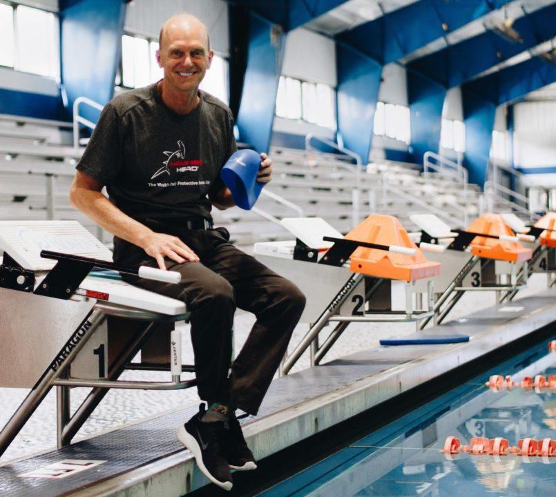 Rowdy Gaines Endorses Hammer Head Swim Caps