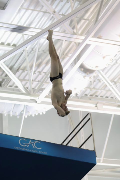 NC State Men Pick Up Big Points in ACC Diving Championships