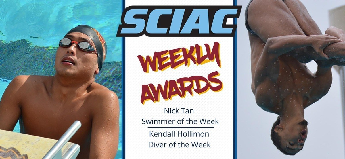 Tan, Hollimon Sweep SCIAC Men's Honors for Claremont-Mudd-Scripps