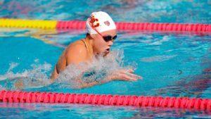 Louise Hansson Splits 22.2 Fly in USC-UCLA Rivalry Meet