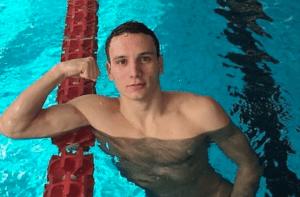 Manuel Bortuzzo courtesy of Federazione Italiana Nuoto