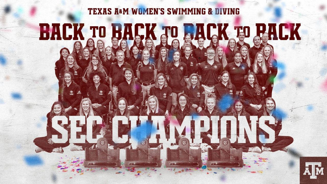 How Did Texas A&M 4-Peat as Women's SEC Champs Despite a Sprinting Deficit?