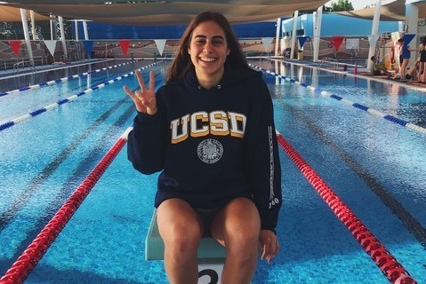 UCSD Secures Commitment from Maltese Record-holder Francesca Falzon Young