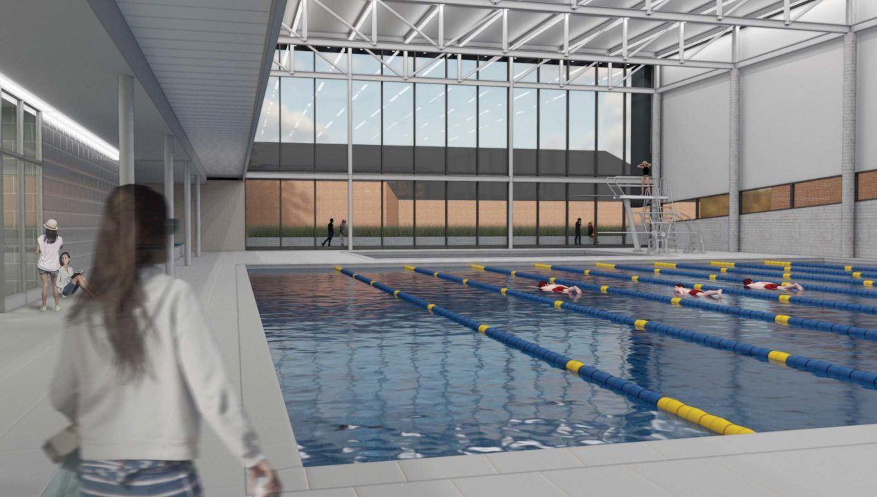 Augustana Announces Plans for New Aquatic Center