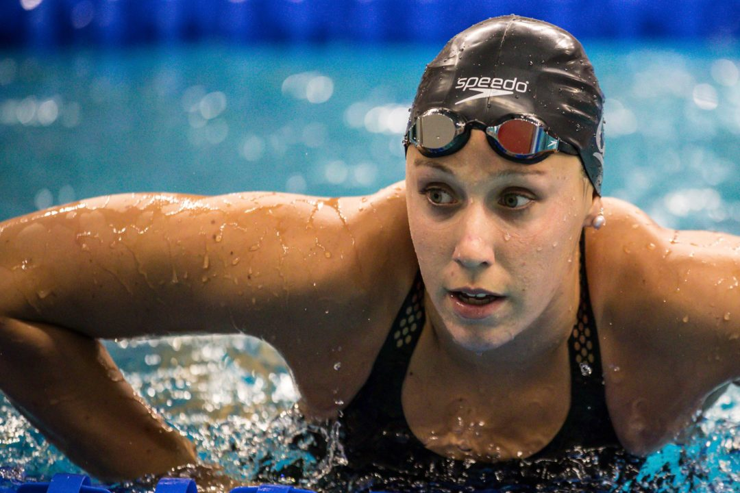 What Does Abbey Weitzeil Think about During the 50 Free? (Video)