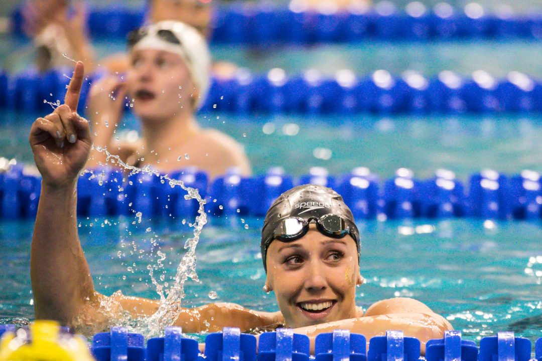 SwimSwam Pulse: 46% Pick Un-signed Abbey Weitzeil As Top ISL Prospect
