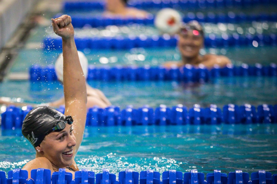 2019 W. NCAAs: Cal Takes Down 400 Free Relay NCAA Record