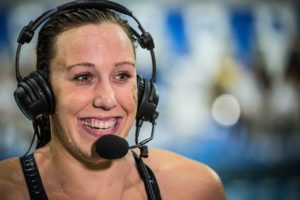 Abbey Weitzeil Comments on Different Event Lineup, LA Stepping up Relay Game