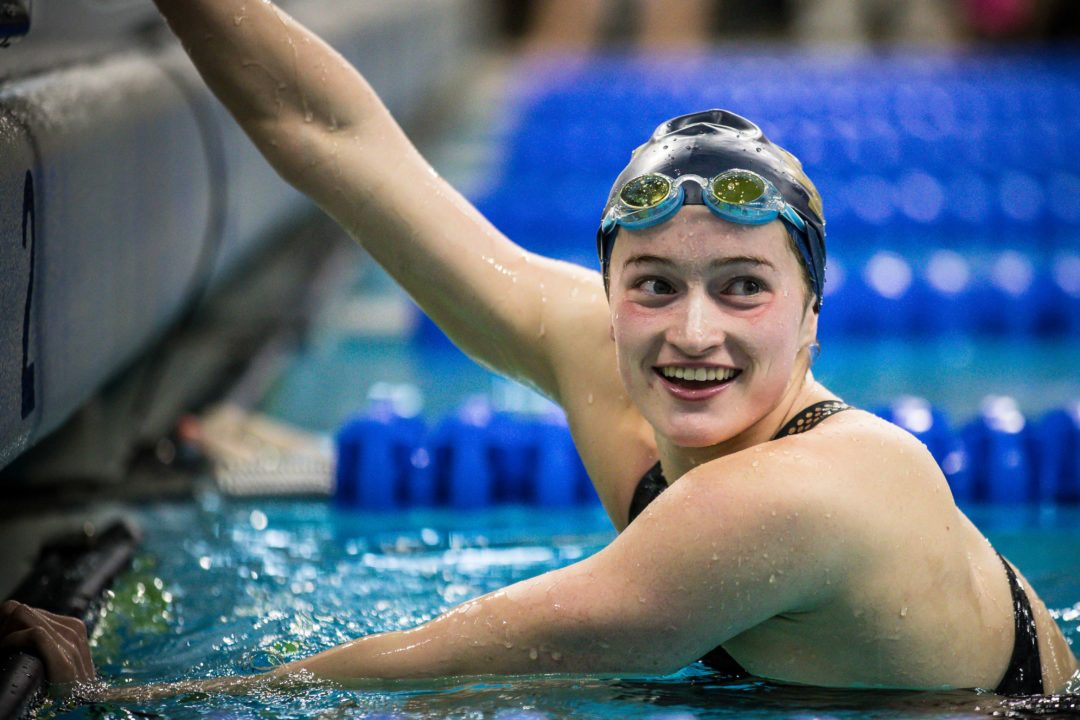 Notre Dame's Abbie Dolan Goes First Sub-2:00 200m Free of Her Career